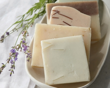 Hand-milled herbal soap