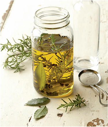 Herb-oil infusions