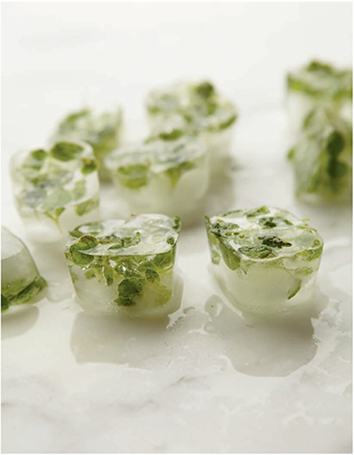 One of the simplest and quickest ways to retain the flavors of herbs and spices for culinary use is to freeze them