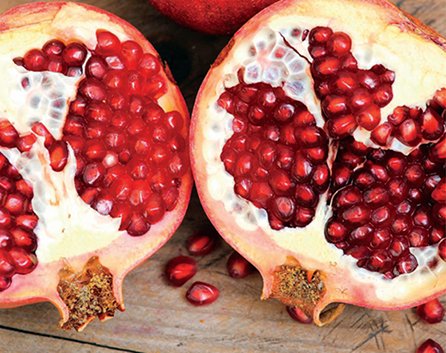 Pomegranate thrives in subtropical climates with slightly alkaline, loamy soil, such as in the southwestern region of the United States